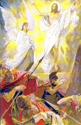 Înviera Domnului - icoana greceasca hp 2