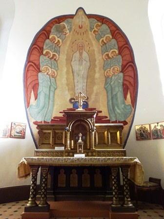 Absida altarului 2