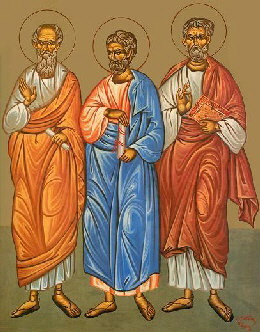 Aristarh, Pud, Trofim, Sf. Apostoli