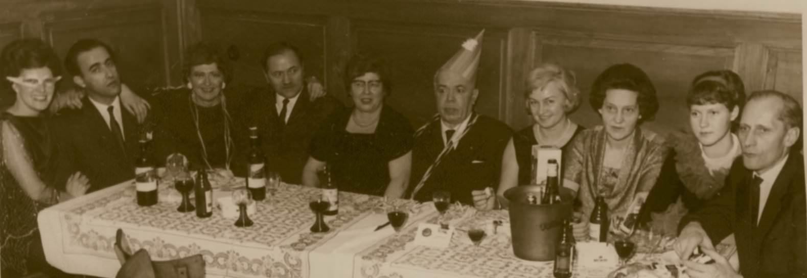 Cu  Prof. George Carsteanu  la Carnaval (1965) hp 1