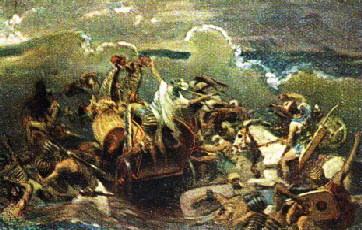 Egiptenii se scufunda în Marea Rosie hp