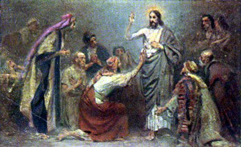 Iisus Se arata ucenicilor dupa Înviere hp 1