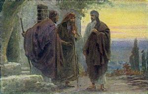 Iisus cu doi ucenici în Emmaus hp 2