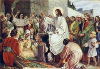 Intrarea în Ierusalim hp 1