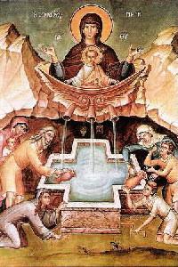 Maica Domnului, Izvorul Tamaduirilor 5
