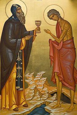 Maria Egipteanca, Sf. cu Zosima