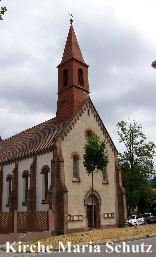 Maria Schutz-Kapelle in Freiburg