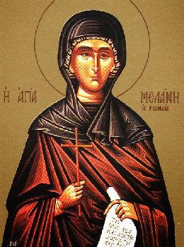 Melania Romana Sf. martira