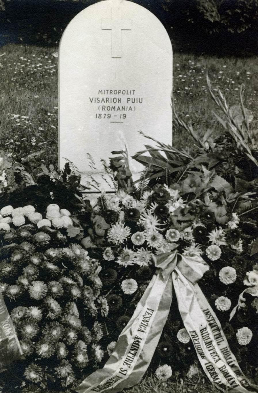 Mitropolitul Visarion Puiu - mormantul - cimitirul din Viels-Maisons (aisne) hp 2
