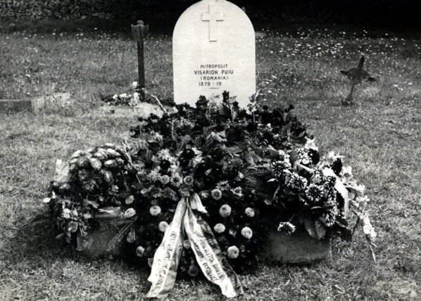 Mitropolitul Visarion Puiu - mormantul  - cimitirul Viels-Maisons (aisne) hp 1