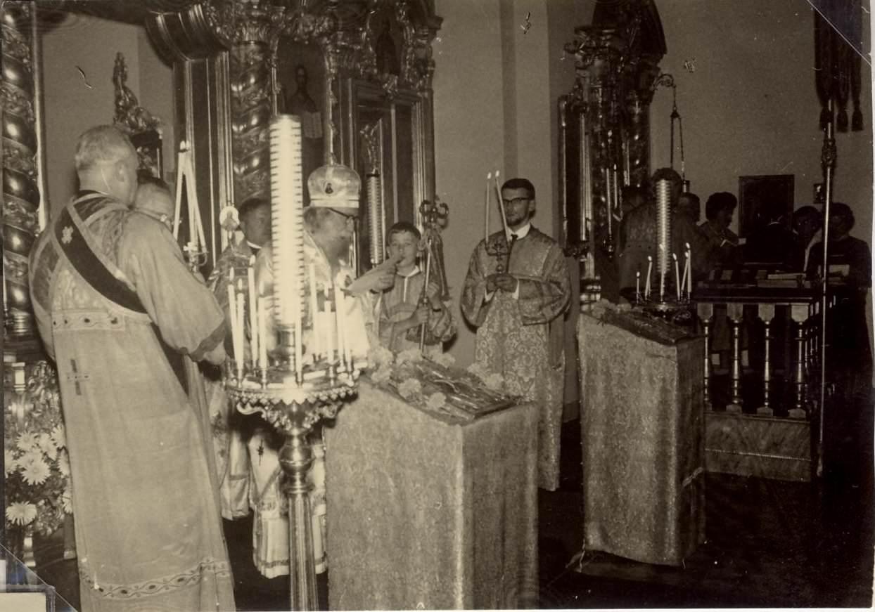 Paris 1966. Arhiep. G.Tarasov - numirea Pr. D. Popa hp 1 Popa Pr - Paris hp 1