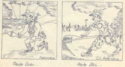 Popa D.- Peste Oder peste Rin - Caricatura hp 1