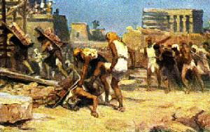 Servitutea lui Israel în Egipt hp