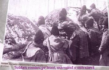 Soldati romani in transee 1