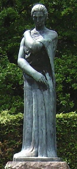 Soultzmatt. Statuia R.M. hp 1