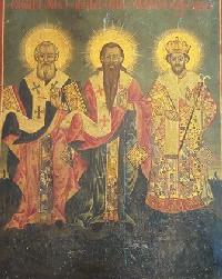 Vasile cel Mare, Grigorie Teologul si Ioan Gura de Aur, Sf. Trei Ierarhi 2