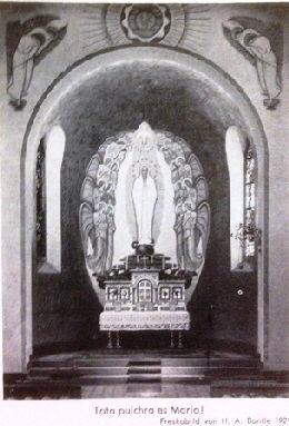 Weisse Madonna. Photo, Bantle 1924