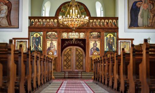 """Biserica ortodoxă română Acoperământul Maicii Domnului"""" (Maria Schutz) din Freiburg im Breisgau, Germania. Foto Adrian Preda"""